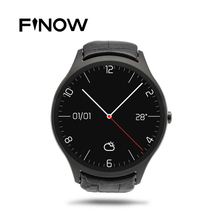 Finow X1 K8 Mini Montre Intelligente Android 4.4 Coeur Taux moniteur Horloge Smartwatch WiFi Bluetooth Similaire NO 1 D5 pour iOS Android