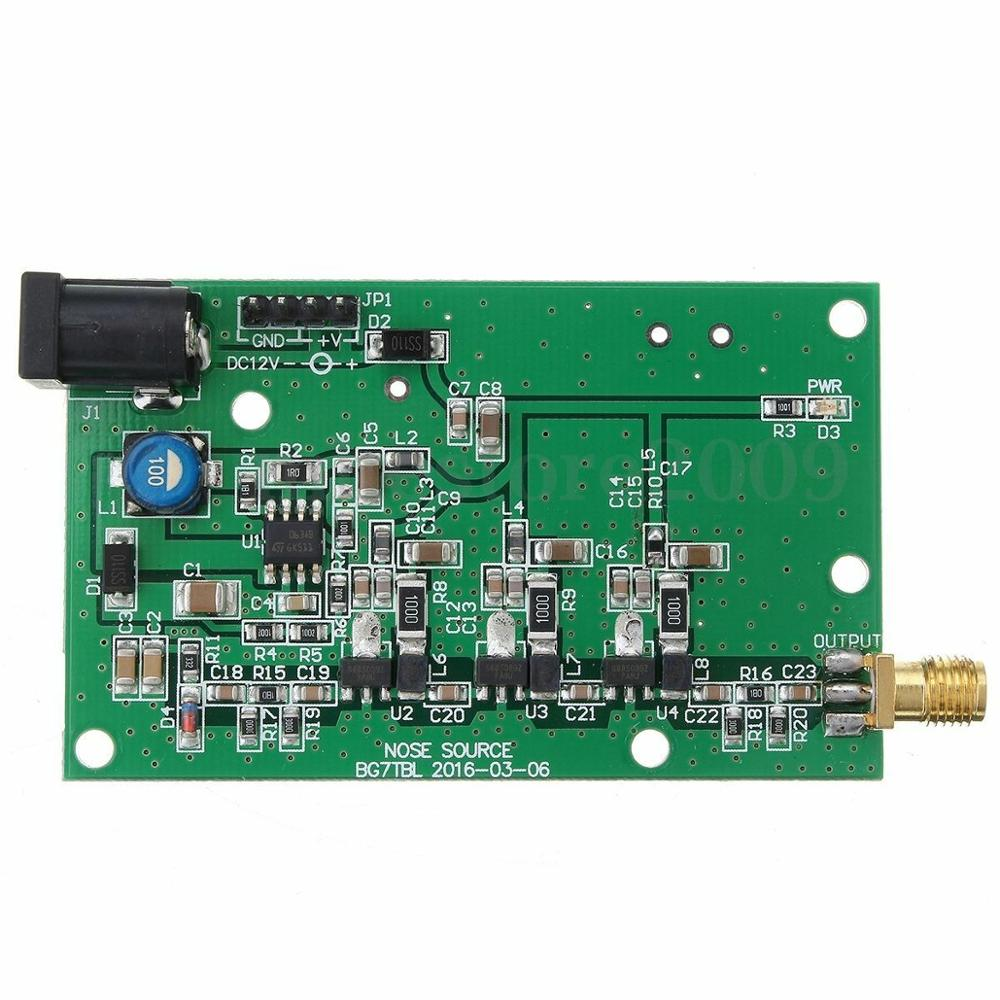 100% Original DC12V/0.3A Noise Source Simple Spectrum External Generator Tracking SMA Source