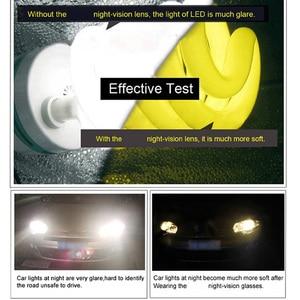 Image 5 - Gündüz Gece Görüş Polarize Gözlük Çok Fonksiyonlu erkek Polarize Güneş Gözlüğü Parlama Azaltmak Sürüş Güneş Cam Gözlük Gözlük de sol