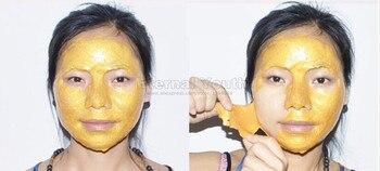 Máscara de ouro 24 K atividade rosto máscara de tratamento de Spa de luxo brilho Anti envelhecimento rugas 600 g