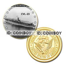 USS Princeton(CVl-23) GP_ pinted Coin