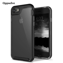 Oppselve Luxury Case For iPhone 8 7 6 S 6S Plus Ultra Thin Capinhas PC & TPU Silicone Cover Coque Fundas