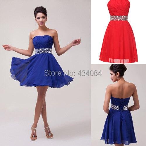 2dc5fe658 Vestido de noche elegante barato de la alta calidad de la gasa vestidos  cortos para el