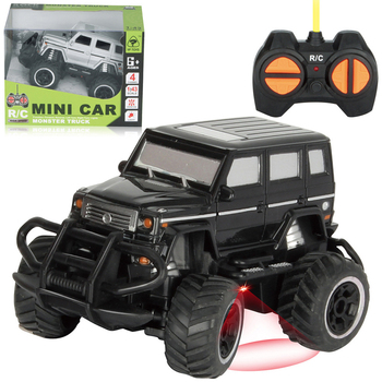 1/43 scale Remote Control RC Off-road Car Monster Truck Crawler Buggy Car Electronic Vehicle Model Toy Xmas Gifts - Black image