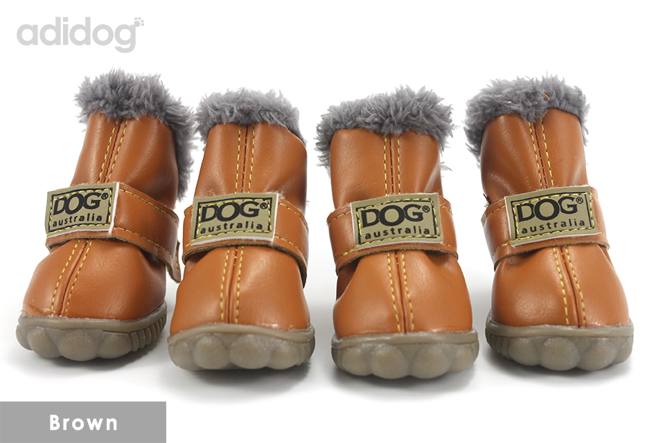 Pet Dog Shoes Winter Super Warm 4pcs set Dogs Boots Cotton Anti Slip XS 2XL Shoes for Small Pet Product ChiHuaHua Waterproof 405