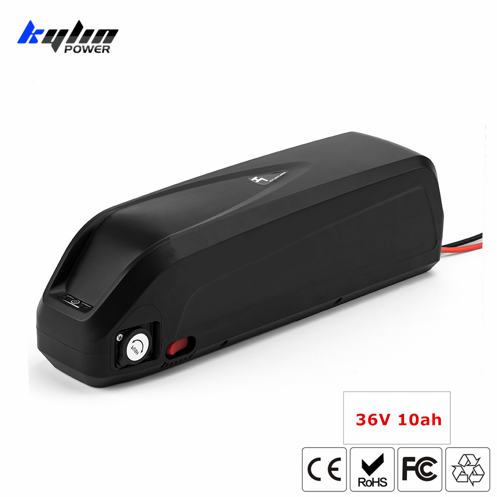 36V 10AH Lithium Electric E Bike Hailong Battery Part with 20A BMS for e-bike 250W 350W 500W 8fun Bafang Bicycle Motor Kits free customs taxes and shipping 36v 10ah lithium ion battery for eclctric bike with 36v 8fun bbs02 350w 500w motor with charger