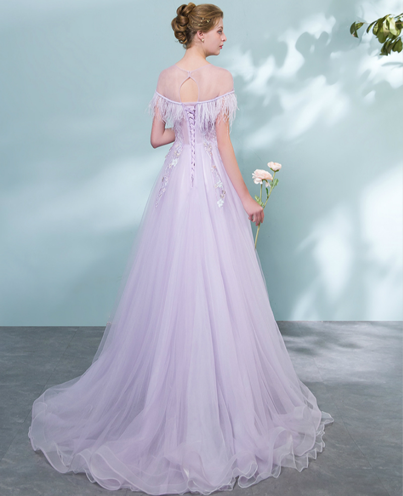 Fantastic Purple Lace Wedding Dress Images - All Wedding Dresses ...