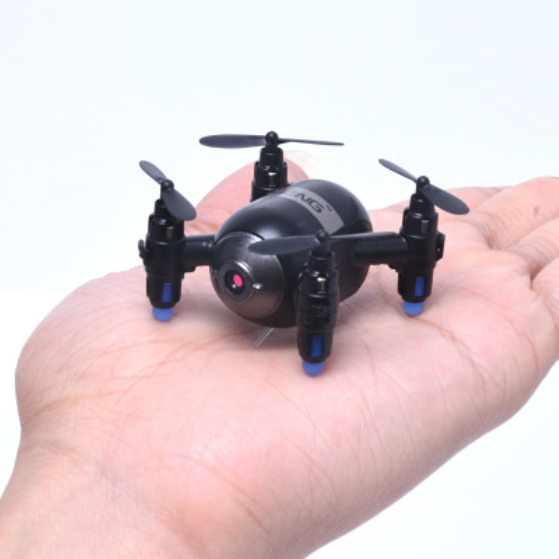 phone control mini wifi fpv remote control rc drone T906W Altitude Hold Mode One Key Landing <font><b>6</b></font> Axis Gyro rc helicopter kids gift image