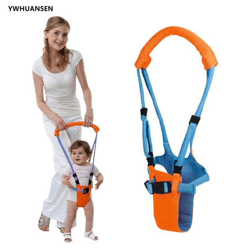 YWHUANSEN Handheld Baby Walker For Toddler Stand Up And Walking Helper Safety Harness Learning Walking Assistant For Beginners