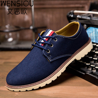 Autumn And Winter Fashion New Men Shoes Casual Shoes Men Flat Shoes Men Lace Up Vintage
