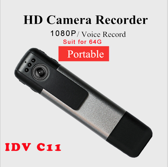 IDV C11 Wireless Wifi IP Camera Recorder 11080P Night Audio Video voice Recorder Portable Digital Voice Support Android IOS c p smith on playing oboe recorder flage paper only