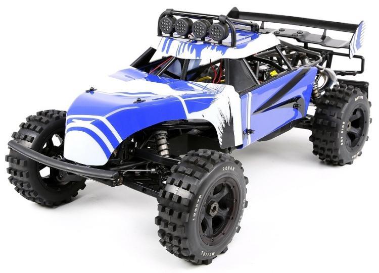 Camion de moteur Rovan baja 320FT 32cc à l'échelle 1/5