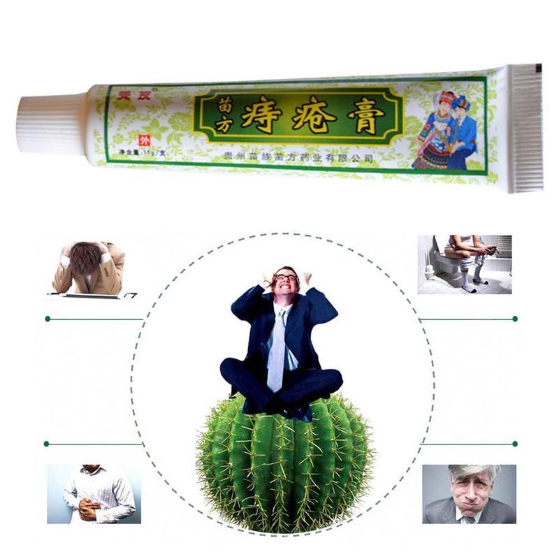 30g Chinese Ointment Herbal Hemorrhoids Cream Effective Treatment Internal Hemorrhoids Piles External Anal Fissure