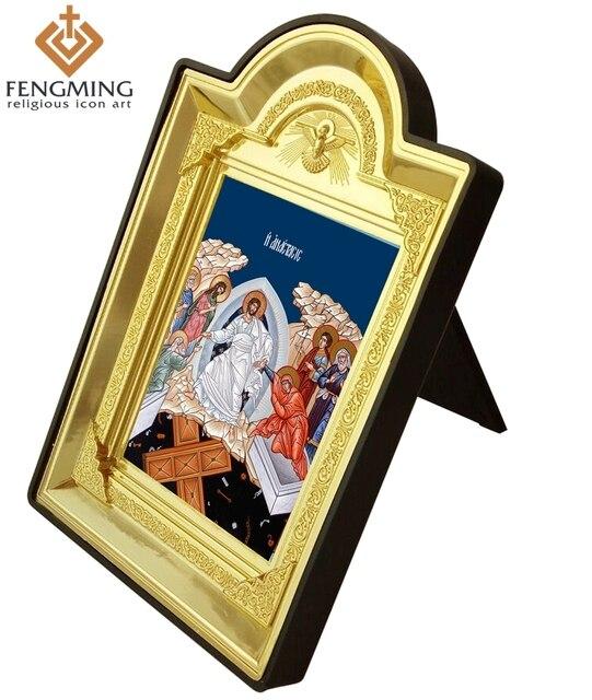 Barato personalizable marco de fotos de plástico artesanía cuadro ...