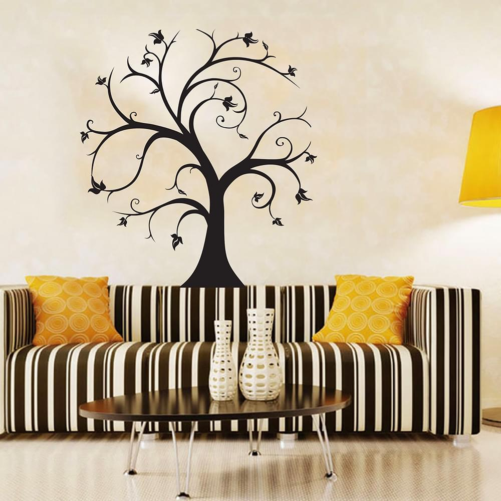 ZUCZUG Autumn Maple Leaf Trees Wall Stickers Pure Wallpaper Cartoon  Children Fashion Decorative Vinyl Living Room Decorations In Wall Stickers  From Home ... Part 58