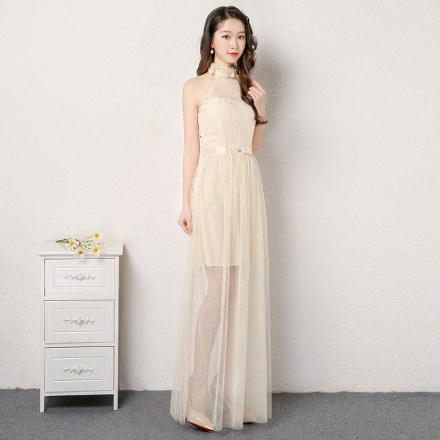 Online Shop Purple Bridesmaid Dresses Long For Wedding Guests Sister