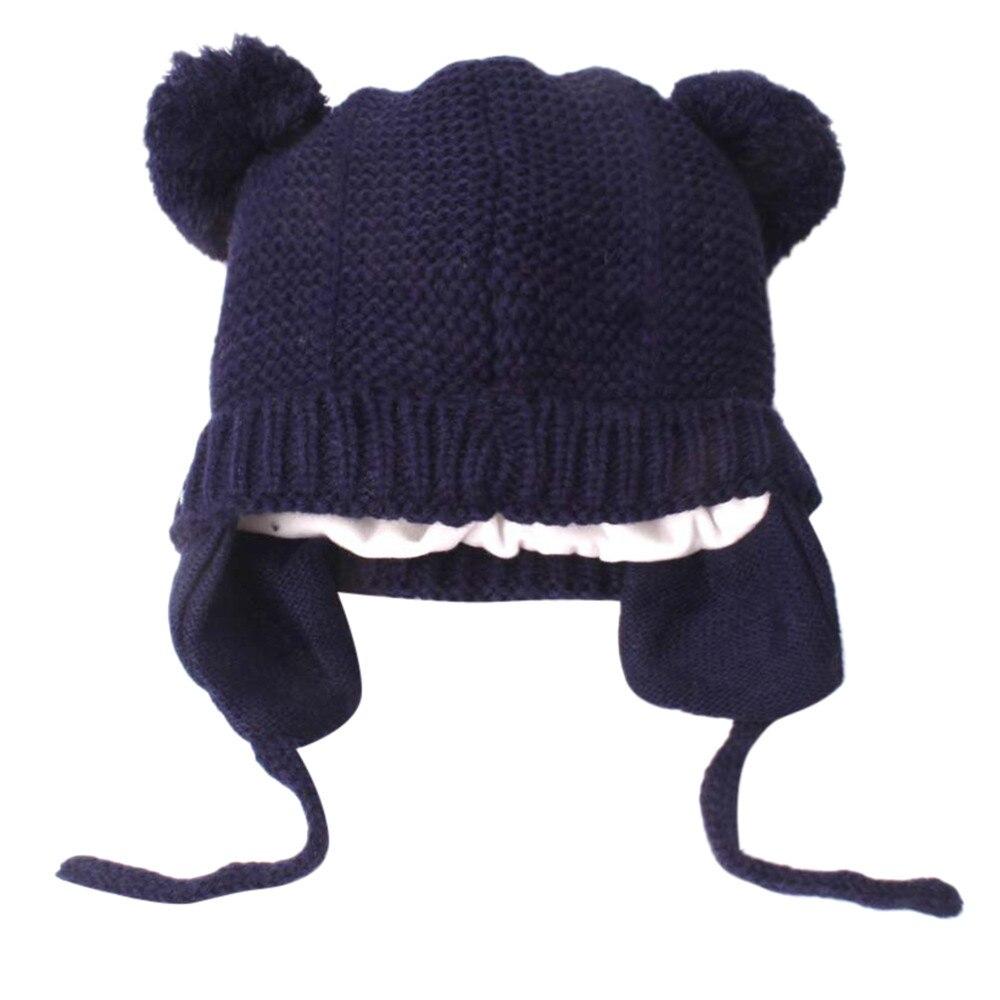 #5 Dropship 2018 Neue Heiße Mode Niedlichen Kleinkind Kinder Mädchen & Jungen Baby Säugling Winter Warme Häkeln Stricken Hut Beanie Cap Freeship