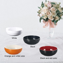 Free shipping. A5 Melamine tableware. bowl. This paragraph is straight edge melamine products.