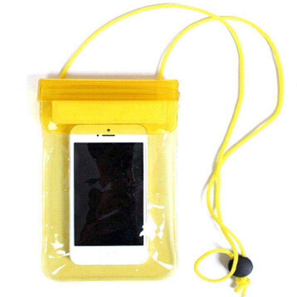 35g caméra téléphone étanche sac natation sauvage survie scellé sac extérieur pluie gear caméra téléphone étanche sac jaune