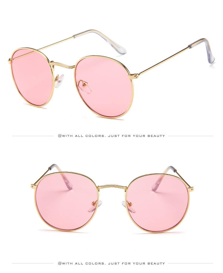 DJXFZLO Retro gafas de sol ovaladas vintage 9