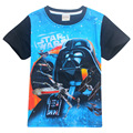 2017 new boys star wars clothing t shirt kids star wars top t-shirt children summer t shirt star wars meninos roupas