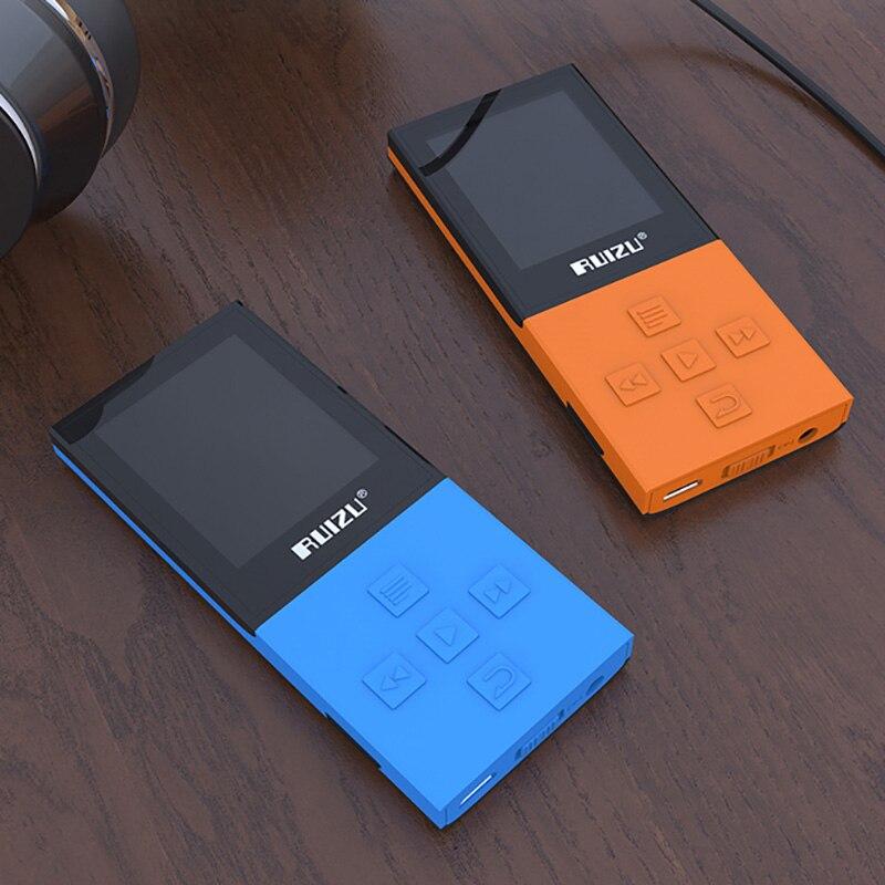 Unterhaltungselektronik Honig Ursprüngliche Ruizu X18 8g Bluetooth Sport Mp3-player Verlustfreie Recorder Fm Radio Bluetooth 4,0 Musik-player Unterstützung 128g Tf-karte Gute QualitäT