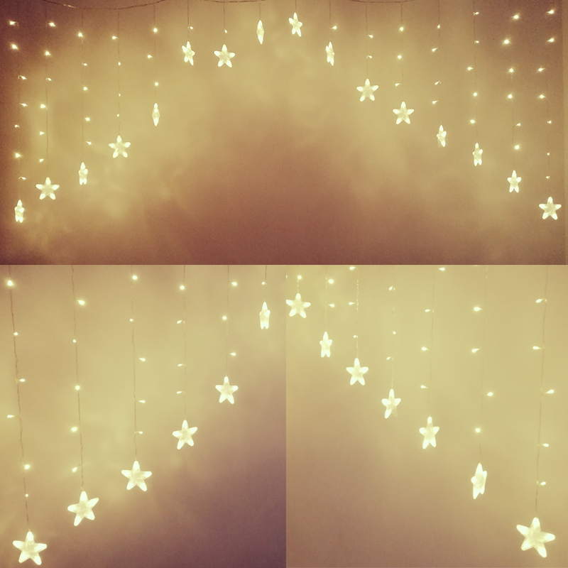 Twinkle Star String Lights LED Flashlight Connectable Indoor Home Bar Festival Curtain Decoration Wedding Christmas Light new festival light wedding celebration product showcase decoration 1 2m led star lamp h319
