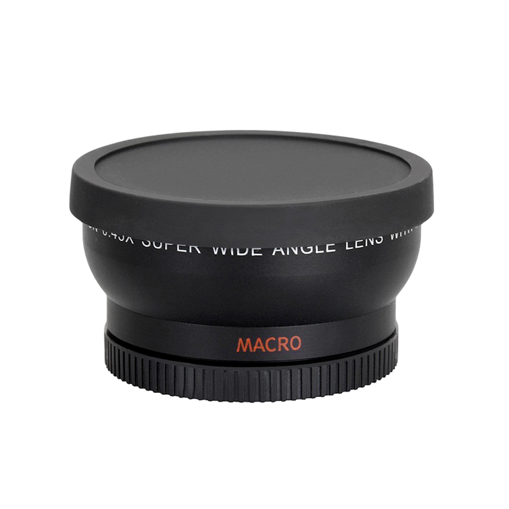 Andoer 58MM 0.45x HD Wide Angle Lens with Macro Lens for Canon Nikon Sony Pentax 58MM Camera Lens Accessory image