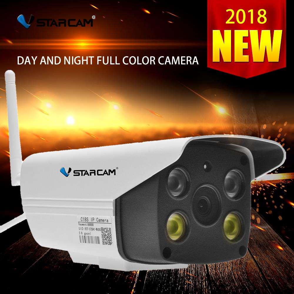 Vstarcam c18s wi fi IP Camera HD 1080P security Waterproof Outdoor full color night vision Security