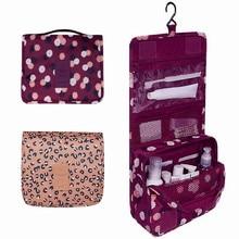 Travel Closet Organizer Case for Toiletries Multifunctional Storage Bag Portable Zipper Hanging