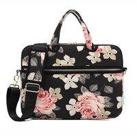 Kayond Laptop Briefcase Shoulder Bag Colorful Style Notebook Handbag Computer Protective Sleeve Carry Case For Macbook