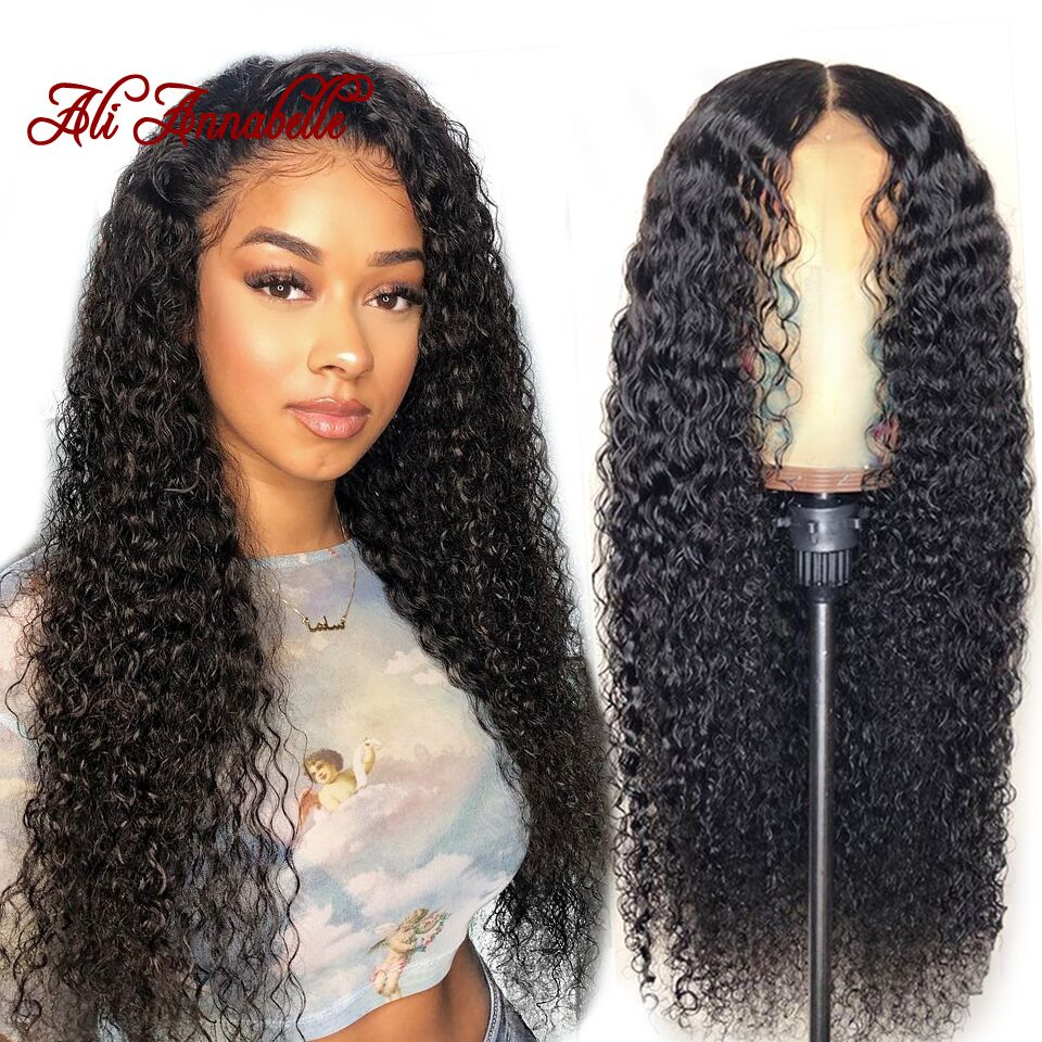 360 Lace Front Human Hair Wigs For Women Brazilian Curly Human Hair Lace Front Wigs Bleached Knots Pre Plucked With Baby Hair