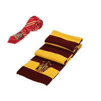 Harri Potter Cosplay Costumes Scarf Necktie Gryffindor Slytherin Hufflepuff Ravenclaw Scarves And Ties For Adults Kids