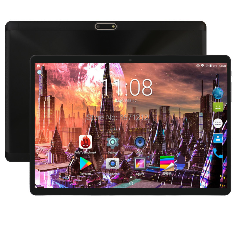 10 Inch Tablet Support Youtube Deca Core 4GB RAM 64GB ROM 3G 4G FDD LTE Phone Call Android 8.0 Tablet GPS WIFI 1280X800 IPS Pad