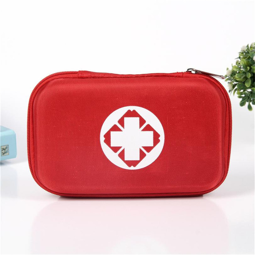 TENSKE 1PC Multifunctional Family Travel Outdoor Emergency Bag Oxford Cloth Multifunction Medicine Pouch Family Storage Boxes