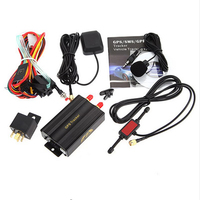 New!Real-Time GSM/GPRS Tracking Google Map Link Track Vehicle Car GPS Tracker 103A TK103 GPS103A Real Time Tracker 3689