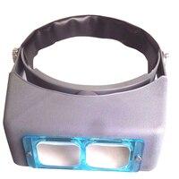 CE/FDA Berufs Optisches Glas 4 Objektiv Kopf Visier Lupe Juwelier-lupe Fernglas
