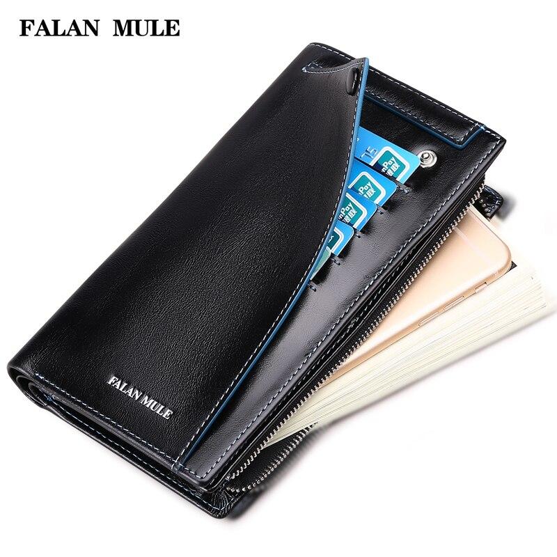 FALAN MULE Hot Sale Vintage Wallet Brand Men Purse Genuine Leather Wallet Men Male Wallet Fashion Purse Coin Purse For</fo