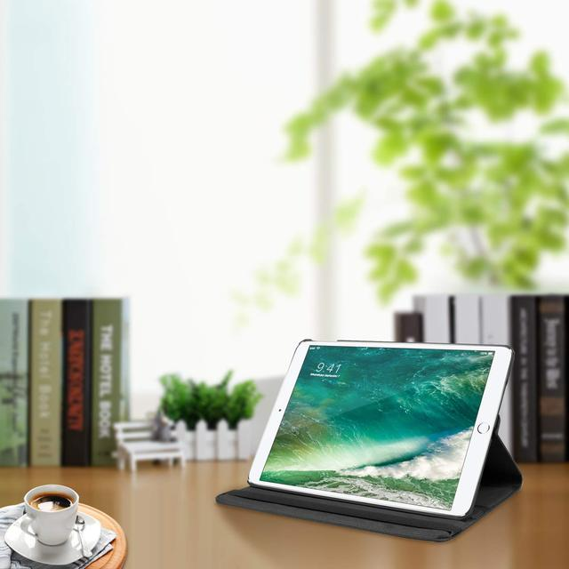 Rotating Stand Flip Leather Cover Case for Apple iPad
