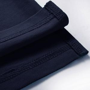 Image 5 - Pioneer kamp katı renk nefes klasik erkek Polo GÖMLEK marka giyim erkek kısa kollu eğlence Polo GÖMLEK 409010