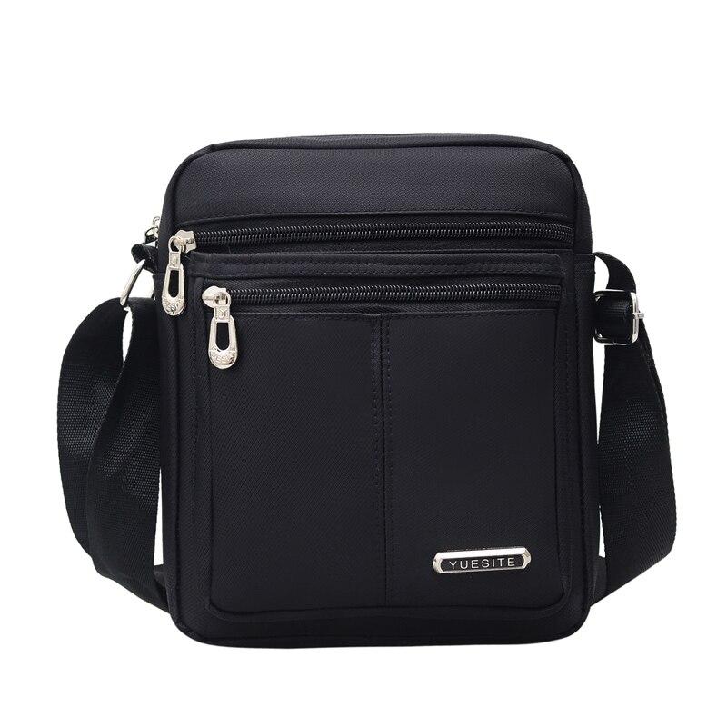 6e22f41c6 Hombre Oxford Casual mensajero bolsa de moda bolsos de hombre bolsos de  hombro de alta calidad