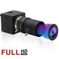 2019 Top ELP 1080P Sony IMX322 H.264 Low illumination 0.01Lux Industrial Machine Vision Mini usb webcam camera