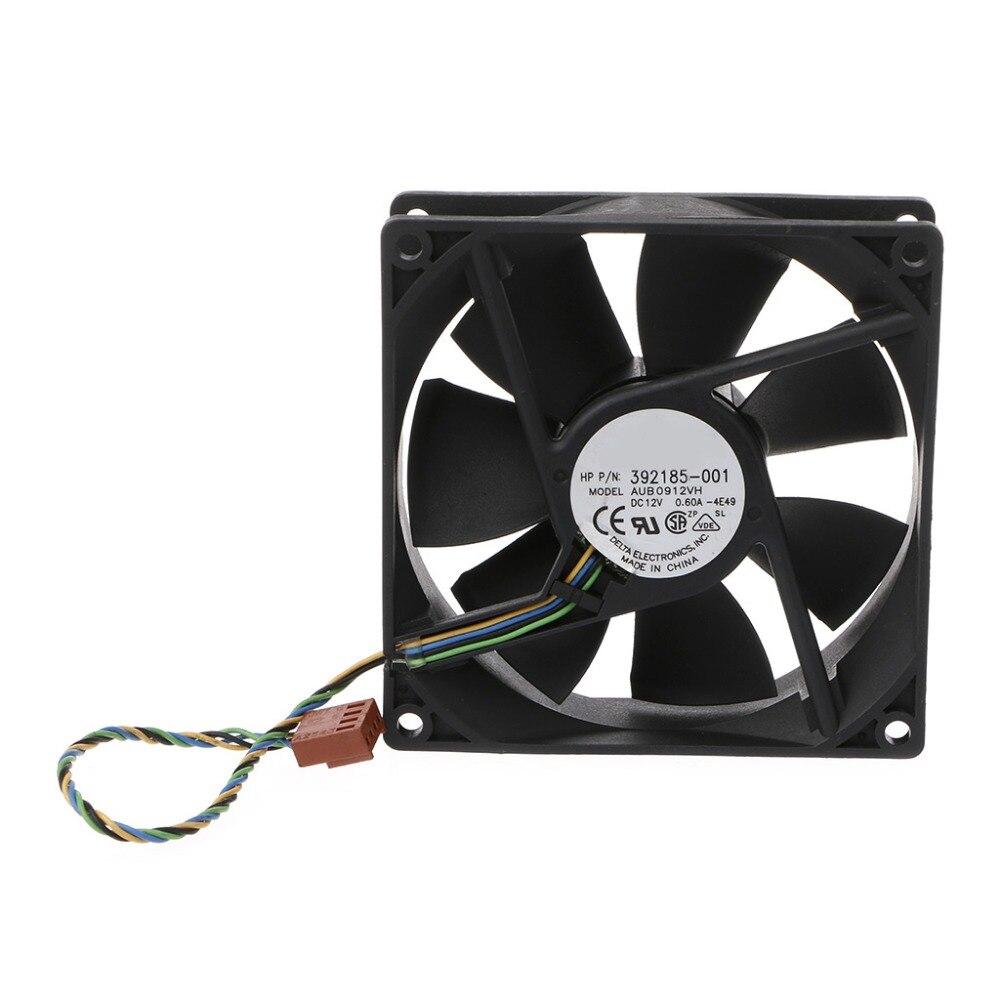 90*90*25mm 9025 Dc 12 V 0.6a 4-pin Pwm Computer Lüfter Für Delta Aub0912vh Ein GefüHl Der Leichtigkeit Und Energie Erzeugen Fans Haushaltsgeräte