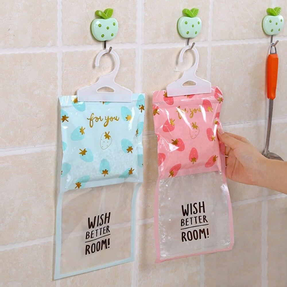 Подвесной осушитель для кухни домашний влагостойкий мешок многофункциональный домашний декор домашний мешок с влагопоглотителем - Цвет: fruit series