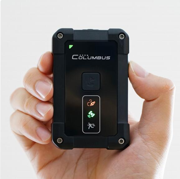 Nouveau Columbus P-1 P1 enregistreur de données GPS professionnel IP66 étanche 10Hz capteur de mouvement intégré MTK 3339 chipset 66 canaux WGS-84