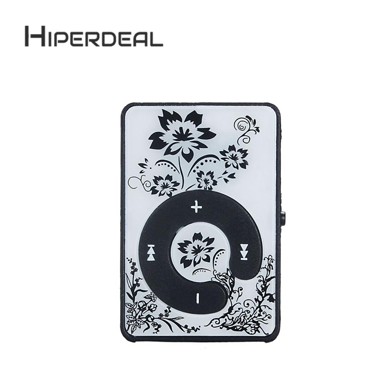 HIPERDEAL Top Sale New Fashion Mini Clip Metal USB MP3 Player Support Micro SD TF Card Media TF Card Slick Stylish Design Sep5