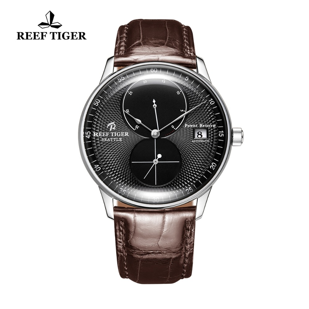 2019 New Design Reef Tiger/RT Casual Watch for Men Power Reserve Automatic Mechanical Watches Stainless Steel Watch RGA82B02019 New Design Reef Tiger/RT Casual Watch for Men Power Reserve Automatic Mechanical Watches Stainless Steel Watch RGA82B0