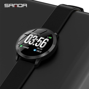 Image 4 - SANDA CF18 Women/Men New Smart Digital Wristwatches Female Call Reminder Heart Rate Monitor Watches Calorie Step Beauty Watches