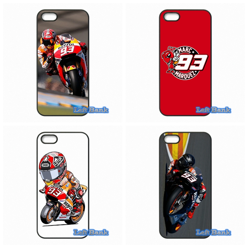 Marc Marquez Moto Gp 93 Phone Cases Cover For Apple iPhone 4 4S 5 5S 5C SE 6 6S 7 Plus 4.7 5.5 iPod Touch 4 5 6
