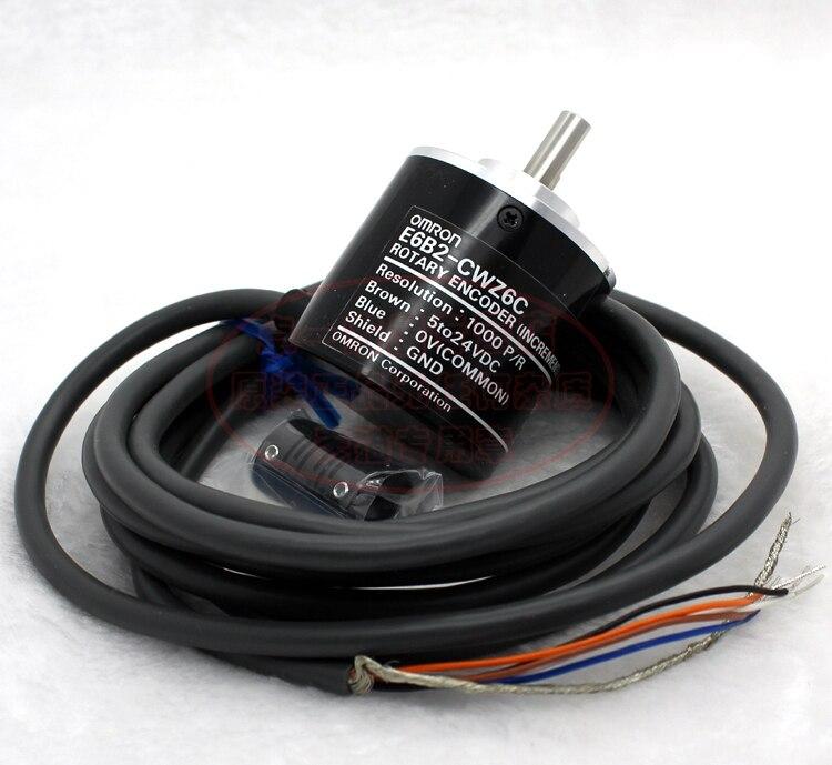 A estrenar en caja Omron E6B2-CWZ5B 5000P//R Encoder Rotativo